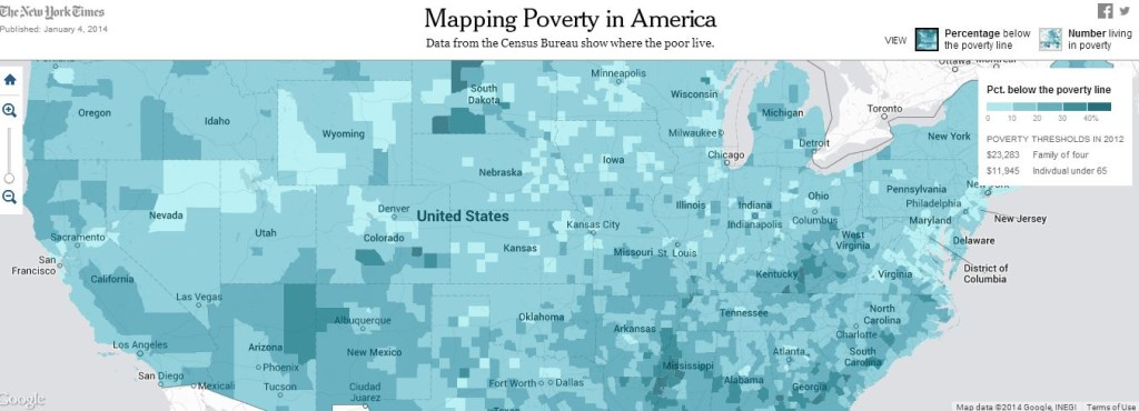 Mapping Poverty in America - The New York Times